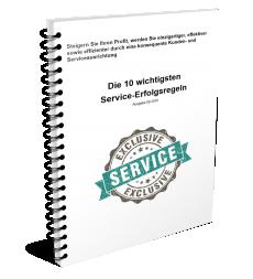 10 Service Erfolgsregeln